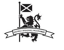 District Regional Programme