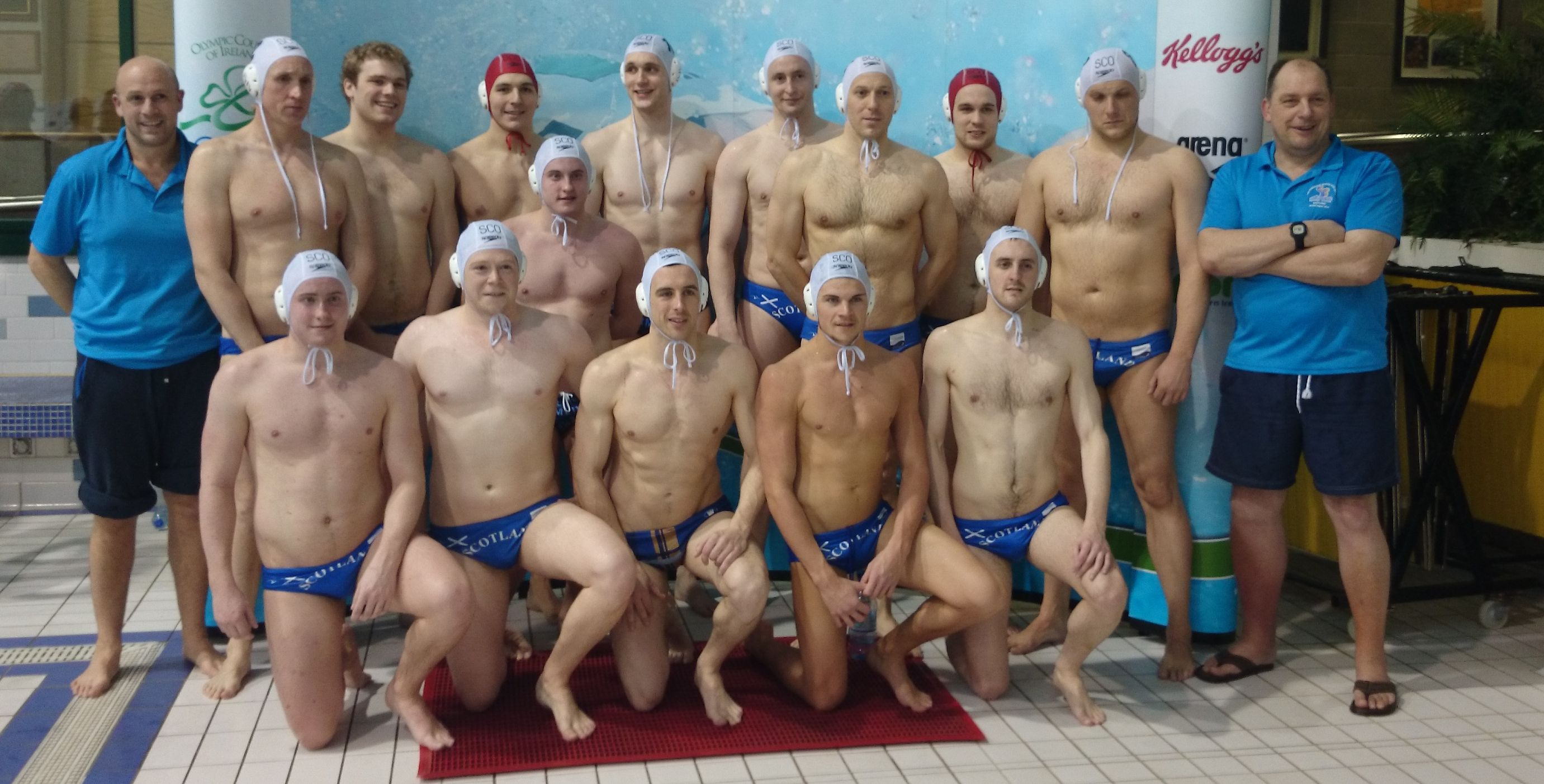 Scotland Mens team Mar 2014