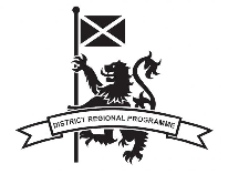 District Regional Programme